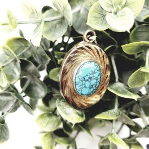 Sterling 925 Turquoise Pendant